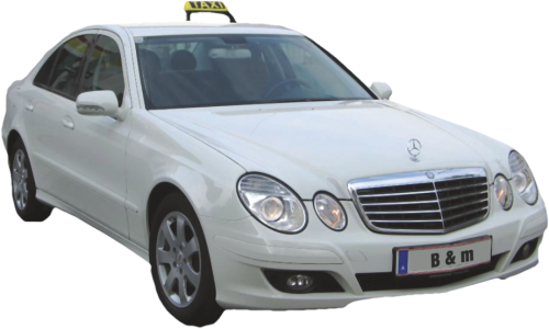 Mercedes Taxi Bruckberger Airport